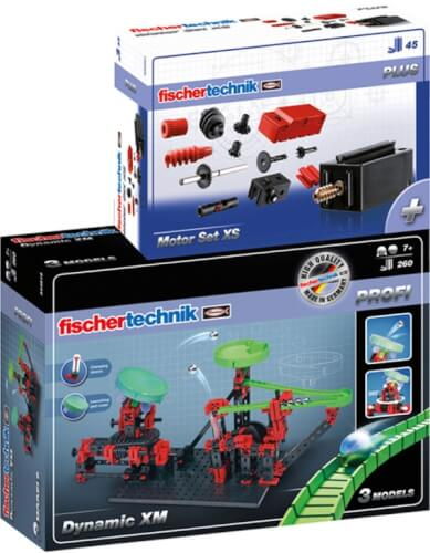 Fischertechnik Dynamic XM + Motor Set XS