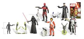 Hasbro Star Wars E7 Basisfiguren (Dschungel/Weltraum), 3.75 Zoll