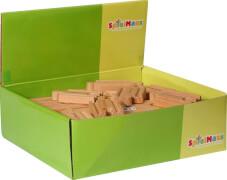SpielMaus Holz Kleine Gerade, sortiert