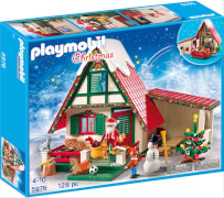 Playmobil 5976 Zuhause beim Weihnachtsmann