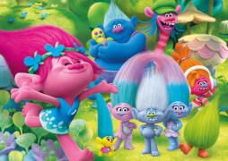 Clementoni Puzzle Maxi Dreamworks Trolls - Good times 104 Teile