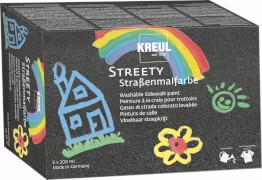 KREUL Streety Straßenmalfarbe 6er Set 200 ml