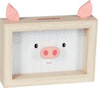 Sparschwein-Bilderrahmen Viel Glück